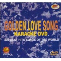 Golden Love Song, 330 låtar. Karaoke-DVD, 15 skivor