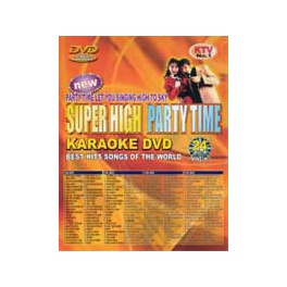 Super High Party Time, 755 låtar. Karaoke-DVD