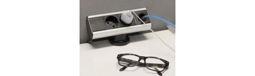 Axessline Desk. Montage på bordskant